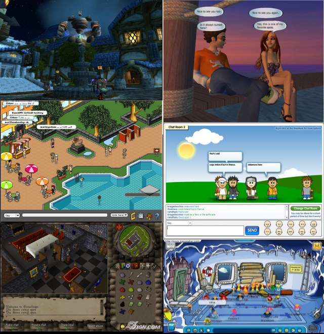Most popular online worlds