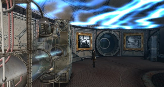 The Tesla Room in the soon to close France3D futuna sim