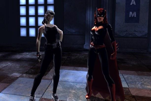 Me and Batgirl