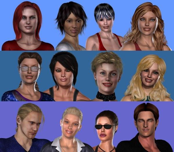 virtual life dating games