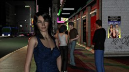 """A downtown street scene made for the """"sequel"""""""