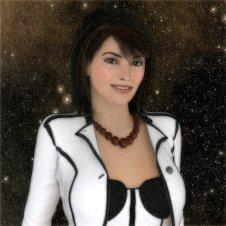 An artistic avatar for web use