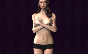 Modeling panties without bra original version