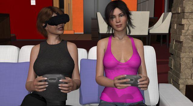 Rachel in VR