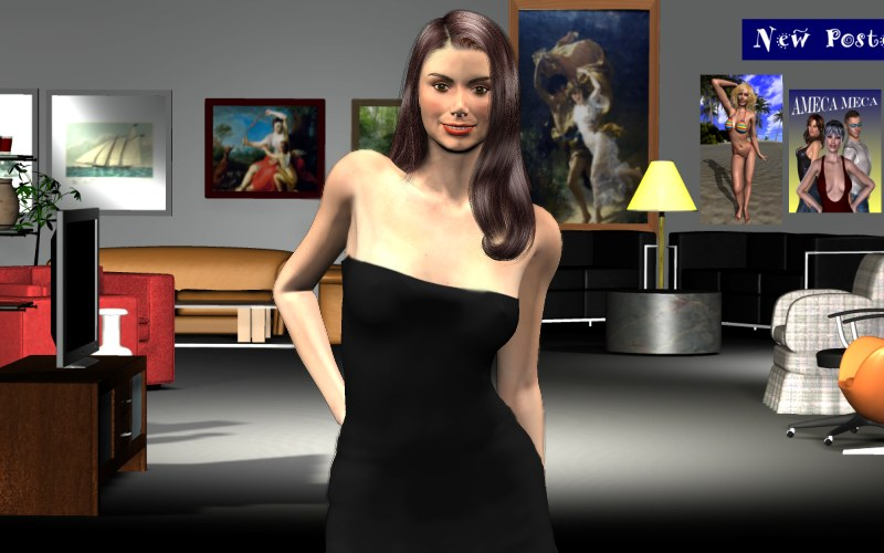 Something's In The Air – Ariane's Life in the Metaverse