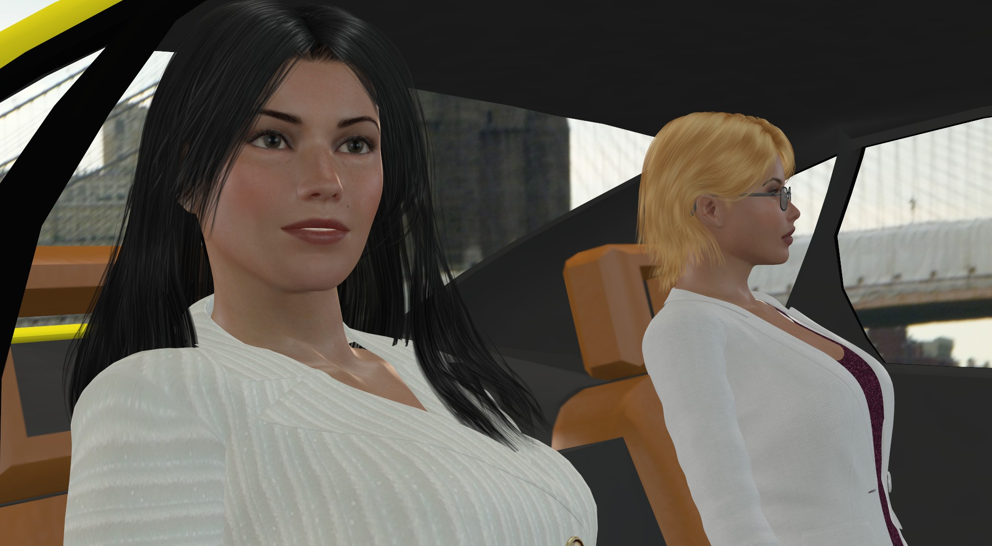 Rachel And Ariane - Arianes Life in the Metaverse