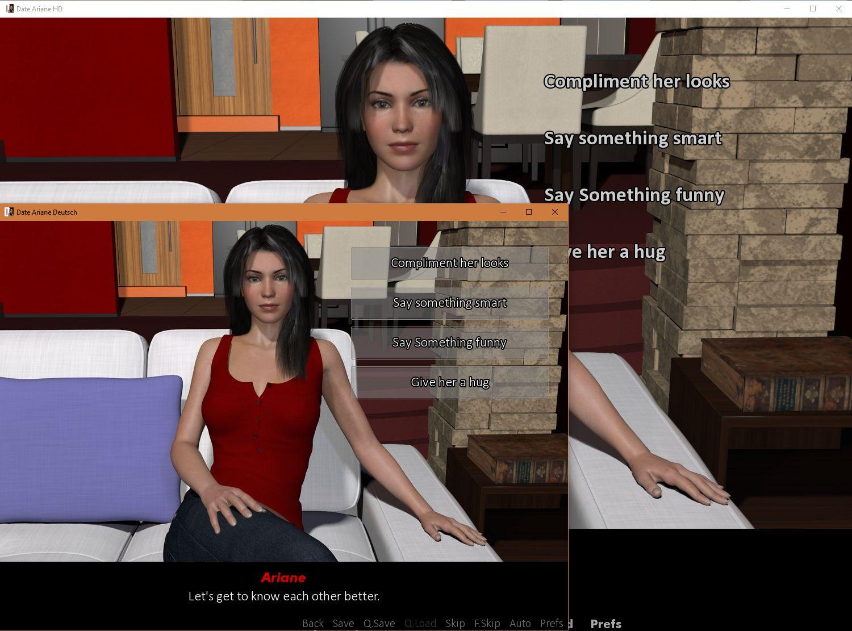 dating simulator date ariane beaten 2017 pictures hd