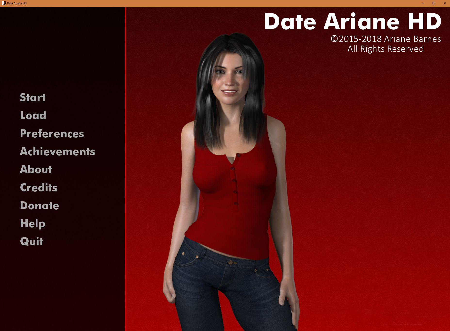 dating simulator date ariane beaten 4 years: