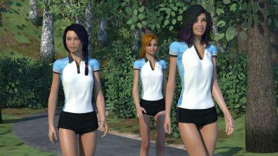 """Teen"" Ariane and friends"
